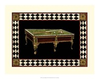 "Let's Play Billiards II by Vision Studio - 19"" x 15"""