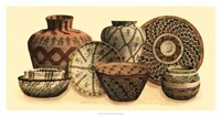 """Hand Woven Baskets VI by Vision Studio - 37"""" x 19"""""""