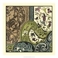 Tapestry Elegance III Fine Art Print