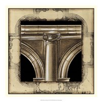 Architectural Schema IV Fine Art Print