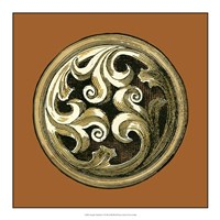 "Graphic Medallion V by Vision Studio - 17"" x 17"""