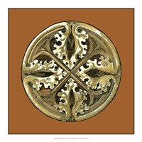 "Graphic Medallion VI by Vision Studio - 17"" x 17"""