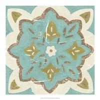 "Rustic Tiles II by Chariklia Zarris - 18"" x 18"""