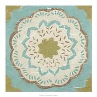 "Rustic Tiles IV by Chariklia Zarris - 18"" x 18"""