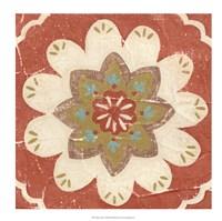 "Rustic Tiles V by Chariklia Zarris - 18"" x 18"""
