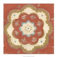 "Rustic Tiles VI by Chariklia Zarris - 18"" x 18"""