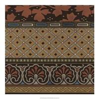 Heirloom Textile II Framed Print