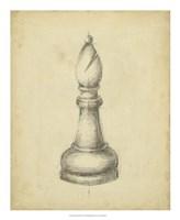 Antique Chess II Fine Art Print