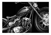 Vintage Motorcycle I Fine Art Print