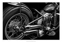 Vintage Motorcycle II Fine Art Print