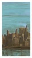 """Manhattan Triptych II by Alicia Ludwig - 18"""" x 32"""""""
