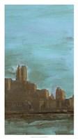 "Manhattan Triptych III by Alicia Ludwig - 18"" x 32"""