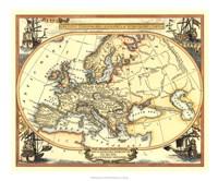 Nautical Map Of Europe