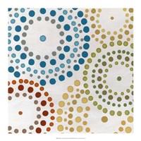 """Mosaic Mandalas II by June Erica Vess - 18"""" x 18"""""""