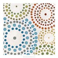 "Mosaic Mandalas IV by June Erica Vess - 18"" x 18"""