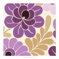 "Fuchsia Floral II by June Erica Vess - 18"" x 18"""
