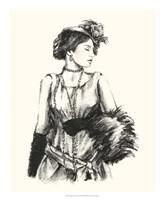 """Vintage Fashion I by Ethan Harper - 18"""" x 22"""""""