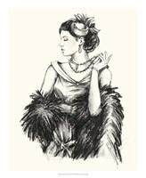 """Vintage Fashion II by Ethan Harper - 18"""" x 22"""""""