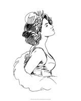 """Elegant Fashion Study I by Ethan Harper - 16"""" x 20"""""""