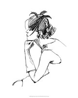 """Elegant Fashion Study II by Ethan Harper - 16"""" x 20"""""""