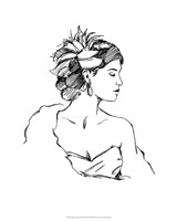 """Elegant Fashion Study III by Ethan Harper - 16"""" x 20"""""""