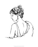 """Elegant Fashion Study IV by Ethan Harper - 16"""" x 20"""""""