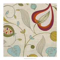 "Cabana Floral II by June Erica Vess - 18"" x 18"", FulcrumGallery.com brand"