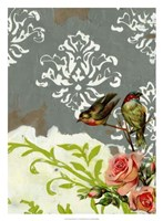 "Victorian Whimsy II by Jennifer Goldberger - 22"" x 30"""