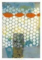 "Translucent Abstraction I by Jennifer Goldberger - 21"" x 30"""