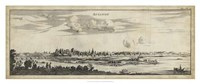 "View of Avignon - 38"" x 16"""