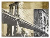 "Metropolitan Collage II by Ethan Harper - 34"" x 26"""