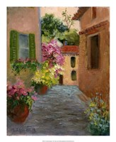 "A French Passage by Mary Jean Weber - 18"" x 22"""