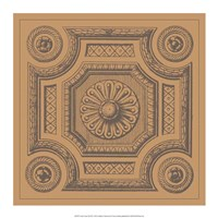 "Terra Cotta Tile III by Vision Studio - 17"" x 17"" - $18.99"