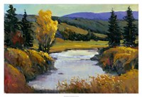 """Purple Mountain View I by Timothy O'Toole - 38"""" x 26"""", FulcrumGallery.com brand"""