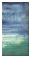 "Blue Bayou II by Jennifer Goldberger - 14"" x 26"""