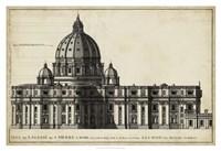 St. Peter's, Rome Fine Art Print