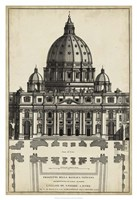 "Basilica at the Vatican by G De Rossi - 26"" x 38"", FulcrumGallery.com brand"