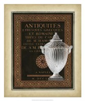 "Antiquities Collection III by Vision Studio - 22"" x 26"""