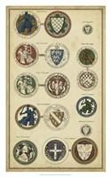 Imperial Crest I Fine Art Print