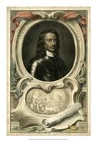 """Portrait III by Houbraken - 15"""" x 22"""""""