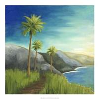 "California Coast I by Megan Meagher - 20"" x 20"""