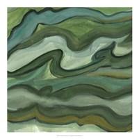 """Sea Kelp II by Lisa Choate - 20"""" x 20"""""""