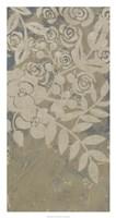 """Linen Chintz I by Chariklia Zarris - 18"""" x 34"""""""