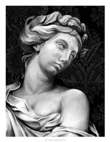 Ornate Sculpture I Fine Art Print