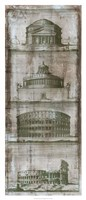 """Architectural Survey II by Vision Studio - 18"""" x 42"""""""