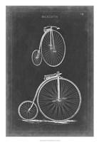 Vintage Bicycles II Framed Print