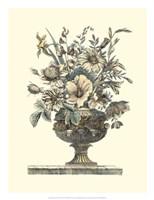 Flowers in an Urn II (Sepia) Fine Art Print