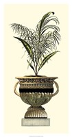 Elegant Urn with Foliage II Fine Art Print