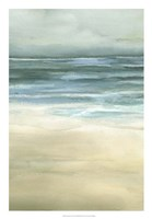 "Tranquil Sea II by Jennifer Goldberger - 18"" x 26"""