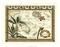 "Tropical Map of East Indies by Vision Studio - 22"" x 18"""